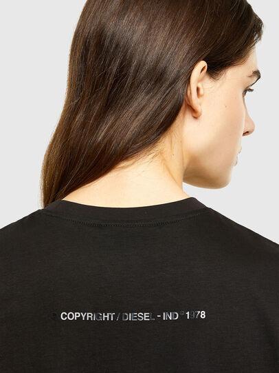 Diesel - D-JOLLIE, Noir - Robes - Image 4
