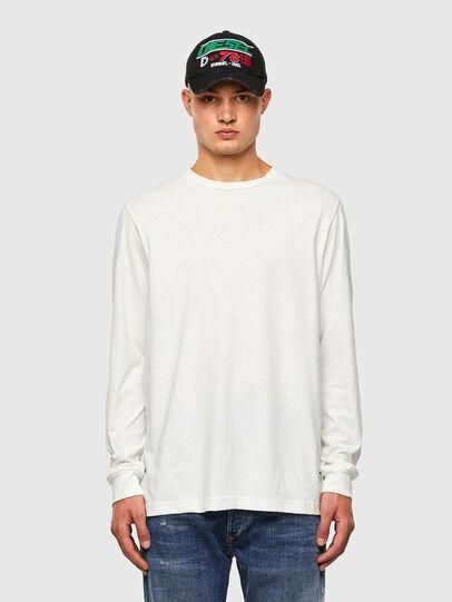 Diesel - T-JUST-LS-MOHI, Weiß - T-Shirts - Image 4