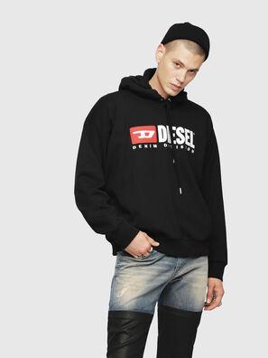 S-DIVISION, Schwarz - Sweatshirts