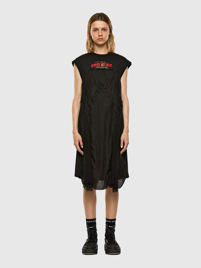 Diesel - D-ALISHA, Black - Dresses - Image 6