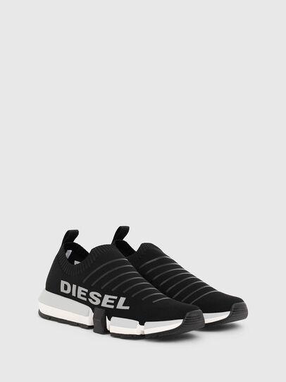 Diesel - H-PADOLA LOW SOCK, Schwarz - Sneakers - Image 2