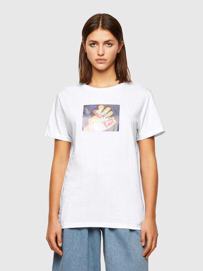 Diesel - T-DARIA-R3, Blanc - T-Shirts - Image 1