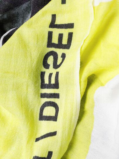 Diesel - SRIGHT, Weiß/Gelb - Schals - Image 3