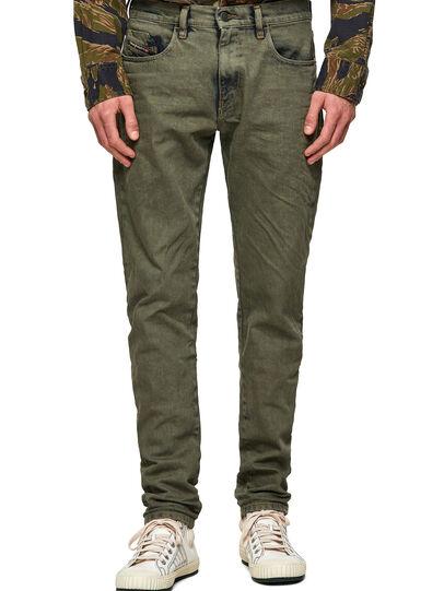 Diesel - D-Strukt 09A50, Vert Militaire - Jeans - Image 1