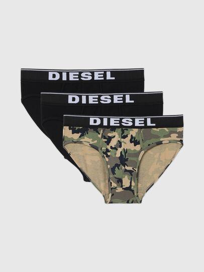 Diesel - UMBR-ANDRETHREEPACK, Grigio/Nero - Slip - Image 1