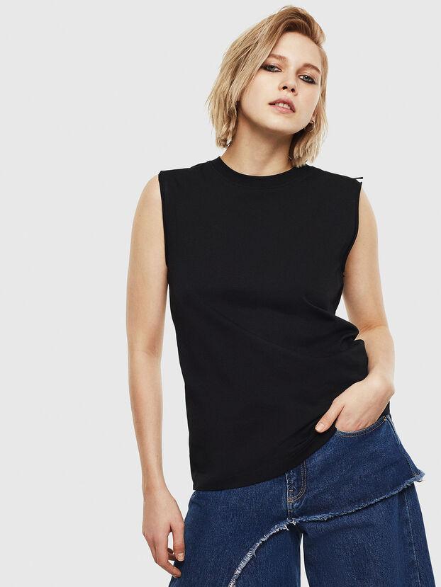 T-LESLEE-A, Schwarz - T-Shirts