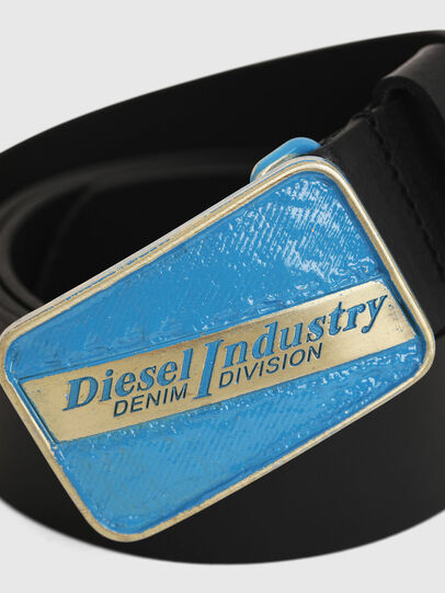 Diesel - B-AGE, Schwarz - Gürtel - Image 2