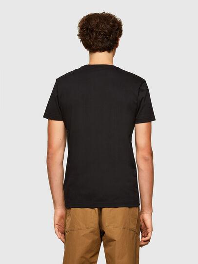 Diesel - T-DIEGOS-A2, Nero - T-Shirts - Image 2