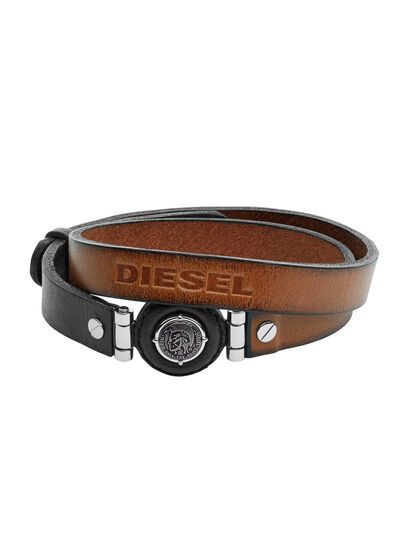 Diesel - BRACELET DX1021, Braun - Armbänder - Image 1