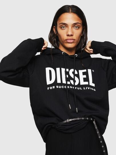 Diesel - F-GIR-HOOD-DIV-LOGO-,  - Sweatshirts - Image 3