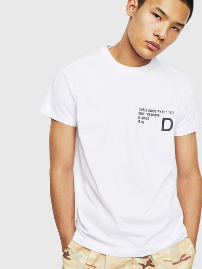 Diesel - T-HOVER, Weiß - T-Shirts - Image 1