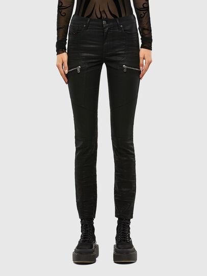Diesel - D-Ollies JoggJeans® 069RK, Schwarz/Dunkelgrau - Jeans - Image 1