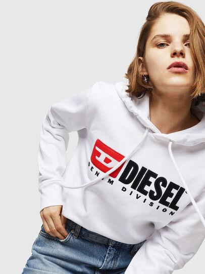 Diesel - F-GIR-HOOD-DIVISION-, Weiß - Sweatshirts - Image 3