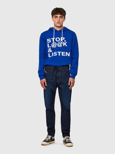 Diesel - D-VIDER JoggJeans® Z69VZ, Bleu Foncé - Jeans - Image 5