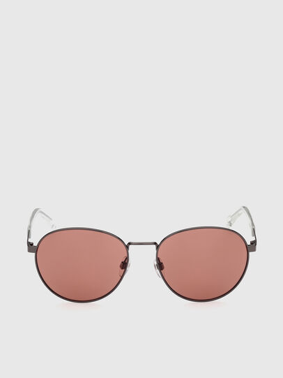 Diesel - DL0355, Black/Red - Sunglasses - Image 1