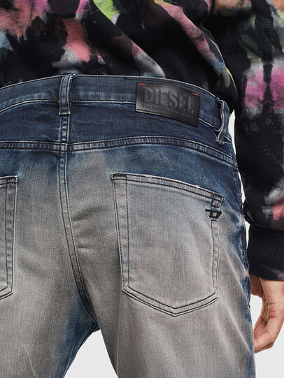 Diesel - D-Strukt 0097Q, Mittelblau - Jeans - Image 5
