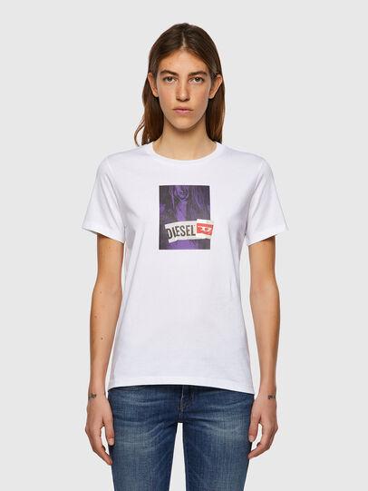 Diesel - T-SILY-B3, Blanc - T-Shirts - Image 1