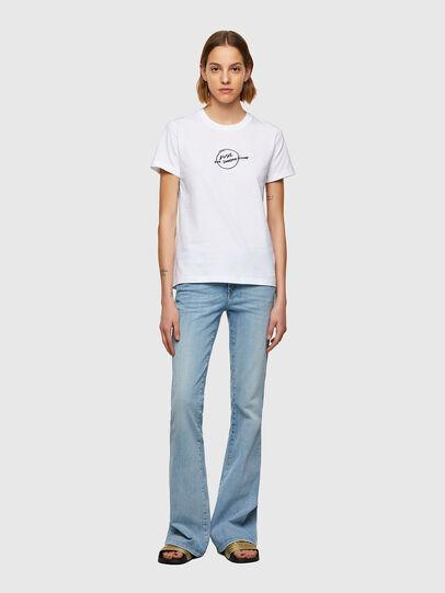 Diesel - T-SILY-B8, Blanc - T-Shirts - Image 4