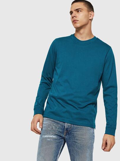 Diesel - T-LERMON, Marineblau - T-Shirts - Image 1