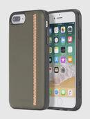ZIP OLIVE LEATHER IPHONE 8/7/6s/6 CASE, Olivgrün - Schutzhüllen