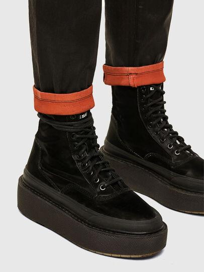 Diesel - FAYZA JoggJeans® 069PG, Schwarz/Orange - Jeans - Image 5