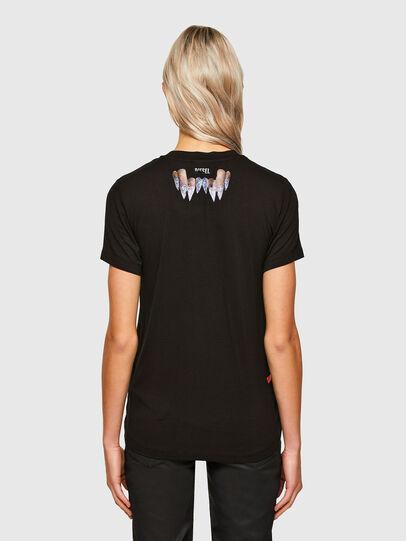 Diesel - T-SILY-R7, Noir - T-Shirts - Image 2