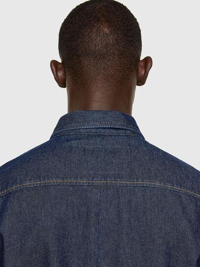 Diesel - D-RAPP, Blu Scuro - Camicie in Denim - Image 4