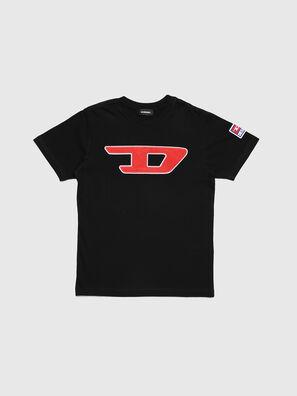 TJUSTDIVISION-D, Schwarz - T-Shirts und Tops