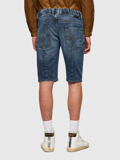 Diesel - D-KROOSHORT JOGGJEANS, Bleu moyen - Shorts - Image 2