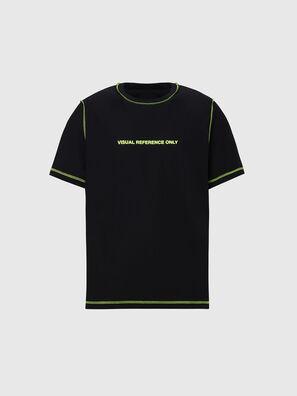T-JUSEAM, Schwarz - T-Shirts