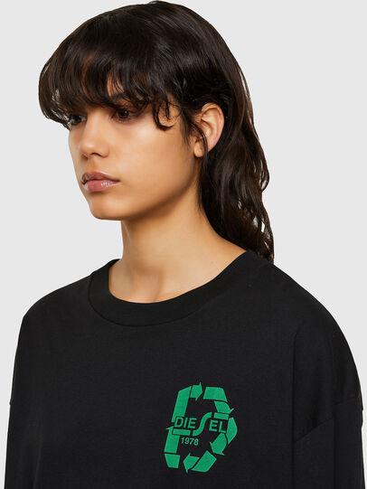 Diesel - T-MIST-E71, Schwarz - T-Shirts - Image 3