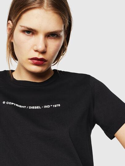 Diesel - T-SILY-COPY, Schwarz - T-Shirts - Image 3