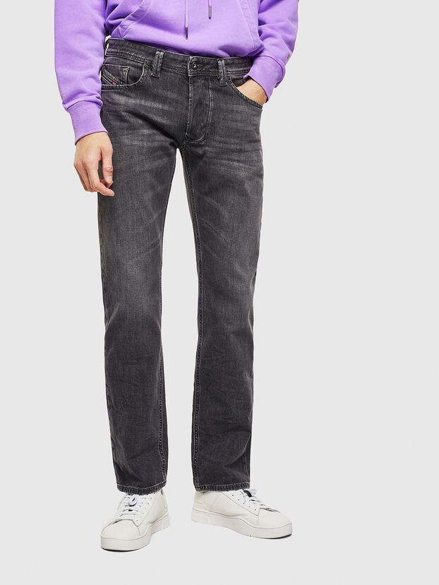 Larkee 0095I, Schwarz/Dunkelgrau - Jeans