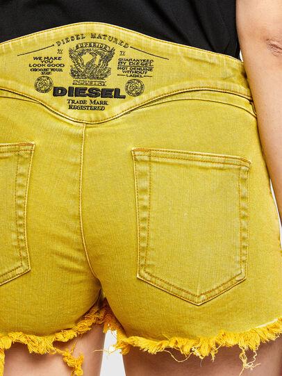 Diesel - DE-BATY-SP1, Jaune - Shorts - Image 4