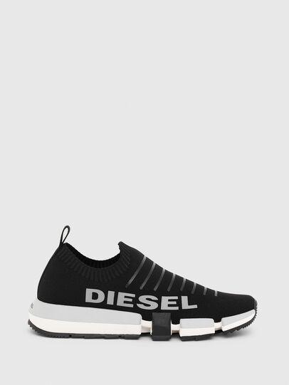 Diesel - H-PADOLA LOW SOCK, Schwarz - Sneakers - Image 1