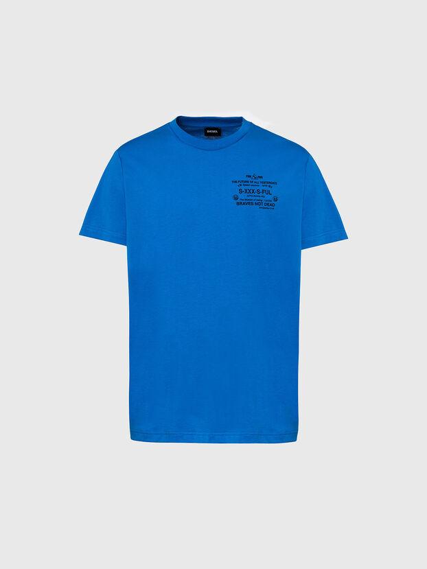 T-DIEGOS-X44, Hellblau - T-Shirts