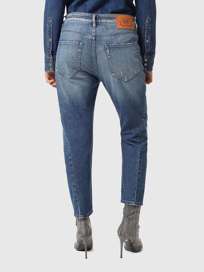 Diesel - Fayza 09A54, Blu medio - Jeans - Image 2