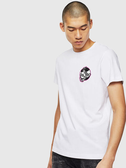 Diesel - T-DIEGO-J10, Weiß - T-Shirts - Image 1