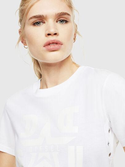 Diesel - T-SILY-WMA, Weiß - T-Shirts - Image 3
