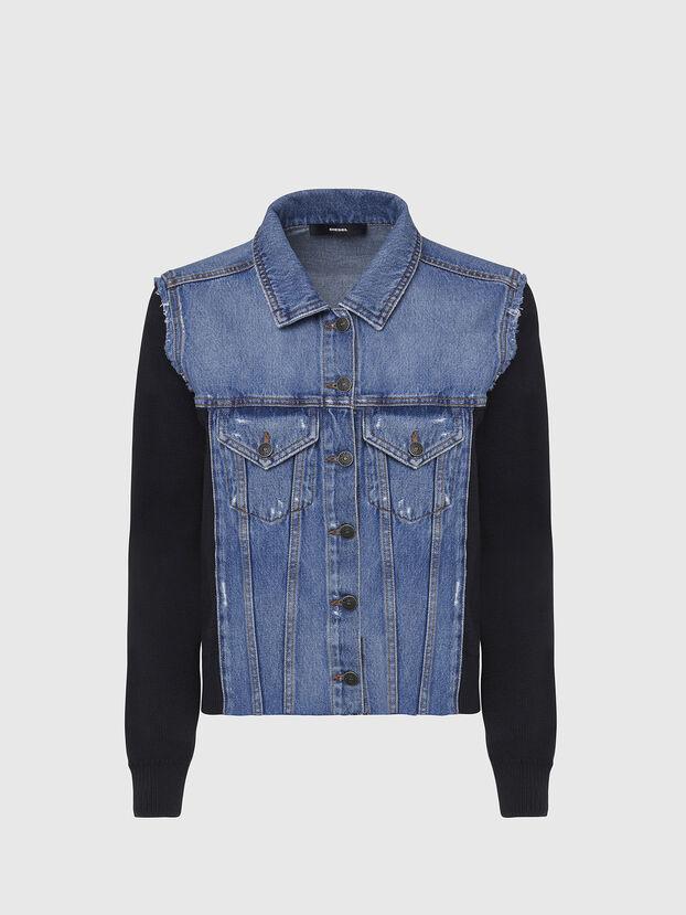 M-ROSE, Blau/Schwarz - Jacken