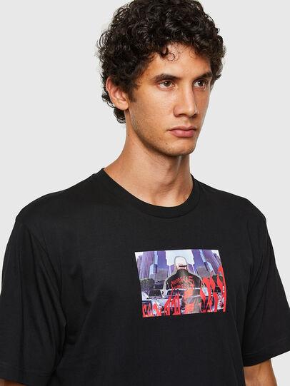 Diesel - T-TUBOLAR-N2, Noir - T-Shirts - Image 3