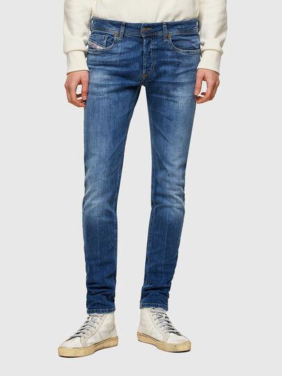 Diesel - Sleenker 009PK, Mittelblau - Jeans - Image 1