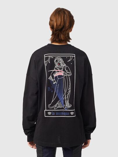 Diesel - T-BLONG, Noir - T-Shirts - Image 2