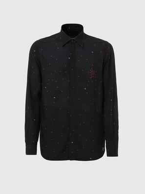 S-ADAMES, Schwarz - Hemden