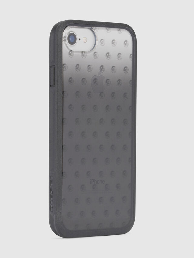 MOHICAN HEAD DOTS BLACK IPHONE 8/7/6s/6 CASE, Schwarz