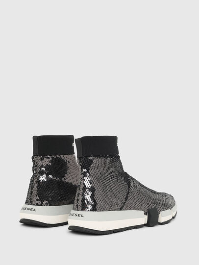 Diesel - H-PADOLA SOCK W, Schwarz - Sneakers - Image 3