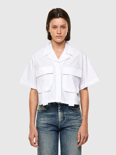 Diesel - C-ADARA-A, Blanc - Chemises - Image 1