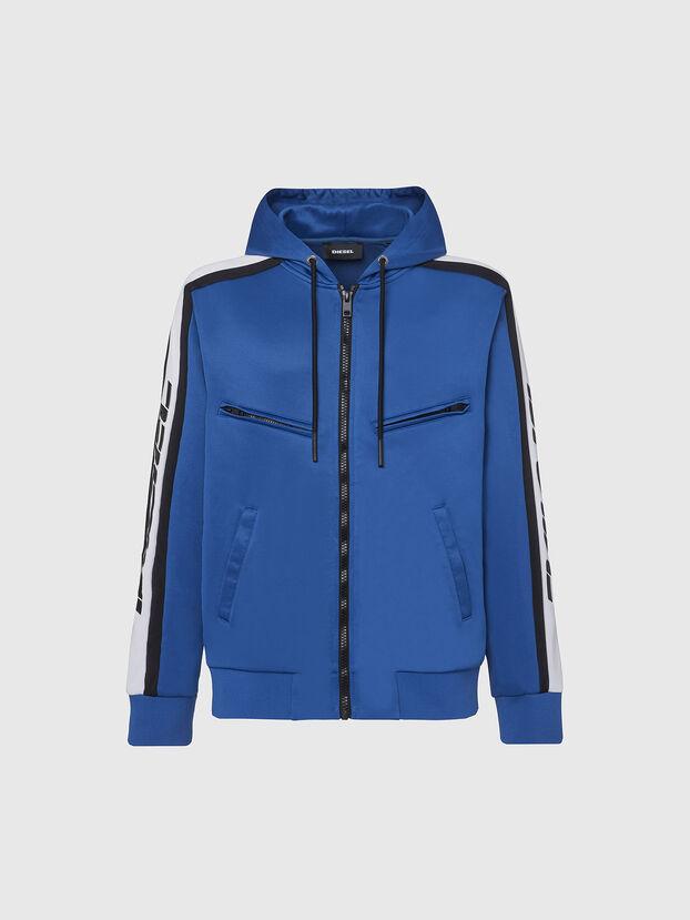 S-STEEL, Blau - Sweatshirts