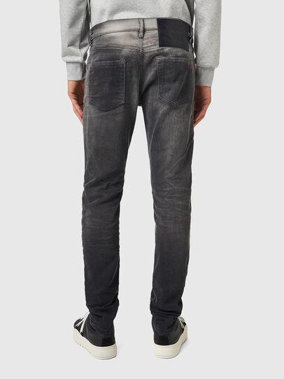 Diesel - D-Strukt JoggJeans® 09B04, Schwarz/Dunkelgrau - Jeans - Image 2