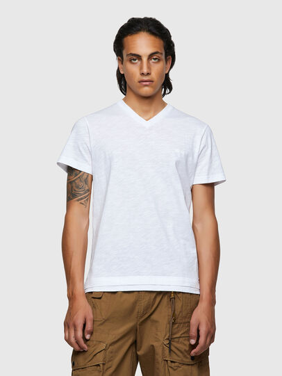 Diesel - T-NORRIE, Bianco - T-Shirts - Image 1